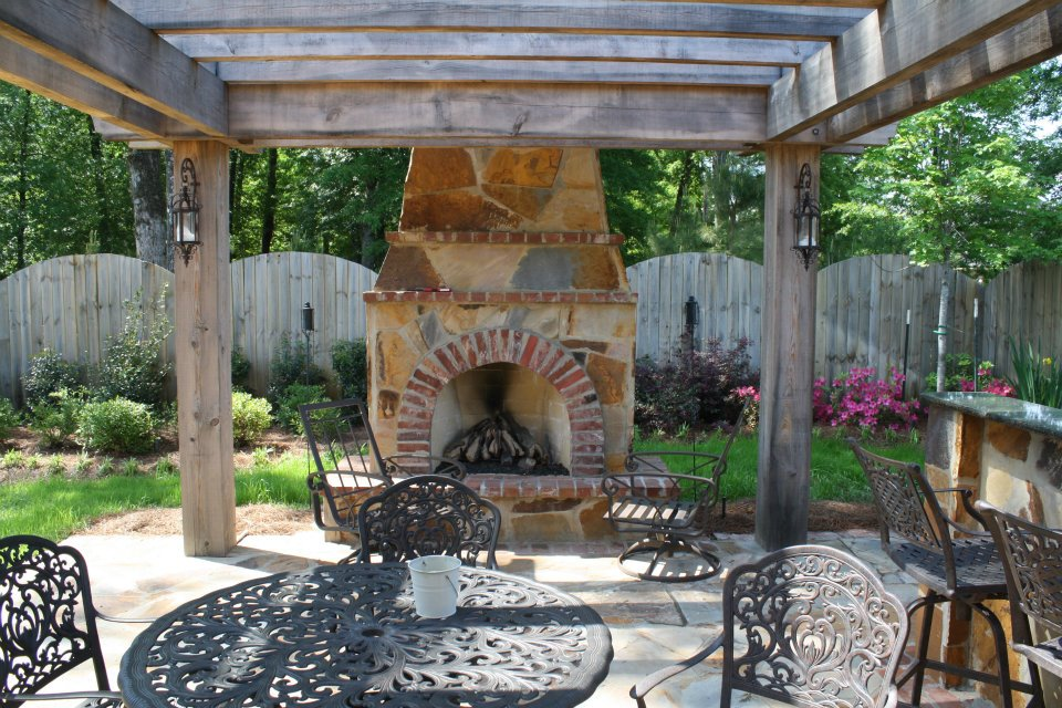 Outdoor Kitchens & Fireplaces | Louisiana Landscape Concepts ...